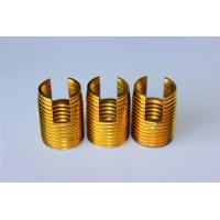 China high quality and hot sales Customied self tapping threaded insert M3 M4 M5 M6 M8 M10 Brass inserts wholesale