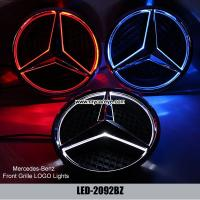 Mercedes benz ml320 ml350 ml400 ml500 front led lights for Mercedes benz symbol light