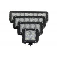 China Dual Row High Power Vehicle LED Light Bar 8LED For Marine / Jeep / Offroad wholesale