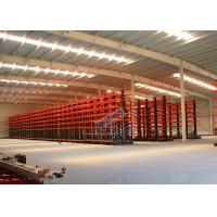 Q235B Steel Cantilever Storage Racks , Selectivity Heavy Duty Cantilever Racking for sale