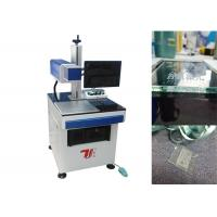 China Air Cooling Co2 Laser Marking Machine / Laser Glass Printer For Non Metallic wholesale