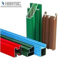 China Customerized Aluminum Window Extrusion Profiles Wooden Finished 6005 / 6061 / 6063 wholesale