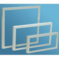 China Aluminum Extrusion Frame For Solar Panels , Anodized Extrusion Profiles With Corner Key Joint wholesale