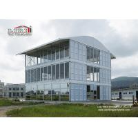 China Luxury High End Triple Decker Wedding Reception Tents with Aluminum Flame and Waterproof PVC Roof wholesale