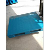 Hot sale 1200x800x150mm flat top with three skids plastic pallets from China