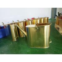 Buy cheap non sparking brass material copper 20L capacity refueling bucket from wholesalers