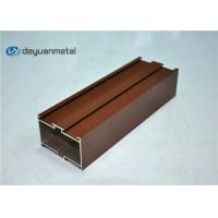 China Red Powder Coating Aluminium Extruded Profile wholesale