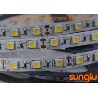 China DC 12V 14.4W SMD5050 Warm White Flexible LED Strip Light IP 22 Interior House wholesale
