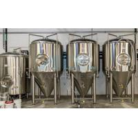 China Stainless Steel 200L 500L 1000l Mini Beer Fermenter  & Stainless Steel Brewing Conical Fermenter wholesale