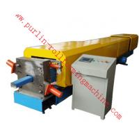 China Automatic Water Drainage Pipe Roll Forming Machine / Metal Eaves Gutter Equipment wholesale