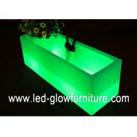 China Eco  -friendly illuminated glow LED Ice Bucket lightswine container / cooler / Barrel wholesale
