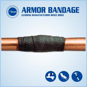 China High Strength Oil Gas Plumbing Pipe Leak Repair Bandage/Kit Anti-corrosion Leak Sealing Tape wholesale