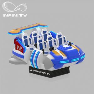 China 6 Seats VR Motion Simulator Virtual Reality Cinema Entertainment Simulation Rides wholesale