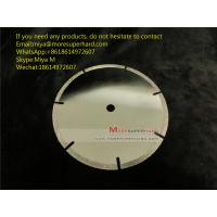 China Electroplated Diamond Cutting Blades & Discs for Cutting Marble, Granite, Thermosettin miya@Moresuperhard.com wholesale