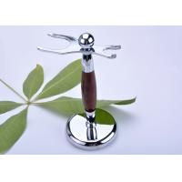 China Safety razor and brush stand faux , rose wood razor stand imitation wholesale