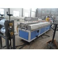 China WPC PVC Wood Plastic Profile Making Machine / Plastic Profile Extruder wholesale