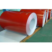 China Red Color Coated Steel Coils / PPGI Coil / Steel Coil Bright Finished SGCC wholesale