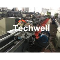 China Aluminum, Galvanized Steel Cold Roll Forming Machine For Octagonal Tube Pipe Equipment With Making Rolling Shutter Axes wholesale