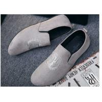 China Custom Made Girl Velvet Loafers Slip on Style Fringe Decoration Suede Leather wholesale