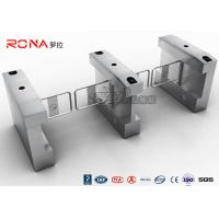 China RFID Card Automatic Access Control Turnstile 20W RS485 For Park Museum wholesale