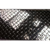 China Polished Aluminum Diamond Plate , Coil Metal Tread Plate 1220 x 2440mm wholesale