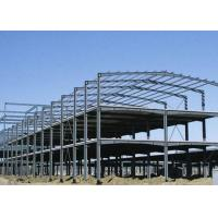China High Strength Steel Frame Building Sound Proof Performance Fire Resistance on sale