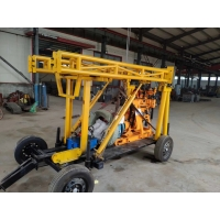 China Mining CE 30m Trailer Mounted Drilling Rigs wholesale