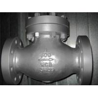 China BW END Stainless Swing Check Valve CF8 CF3 CF8M With Integral Or Replaceable Seat wholesale