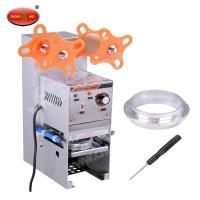 Buy cheap New X04355 Manual Meal Tray Sealing Machine Food Tray Sealing Machine from wholesalers