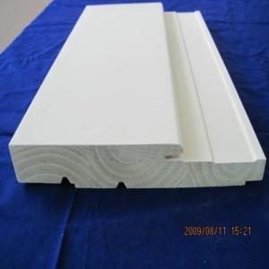 China Indoor / Outdoor Use Wooden Door Frame Excellent Waterproof Performance wholesale