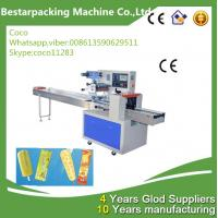 China popsicle flow packing machine with automatic feeder wholesale