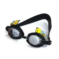 China Fashionable Kids Swimming Goggles Black Special Design Multi Function wholesale