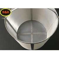 China Smooth Surface Fine Wire Mesh Filter Custom Shape High Porosity Wear Resistance on sale