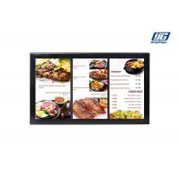 China Black Frame Wall Mounting 43'' LCD Multi Screen Display Area Advertising Player wholesale