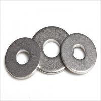 China Precision USS Metal Flat Washers Standard With Zinc Blue Yellow Colour wholesale