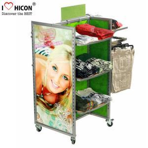 China Merchandising Retail Gondola Shelving Metal Storage Clothing Store wholesale