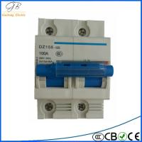factory direct 2 pole earth leakage dz47-63 timer air circuit breaker price