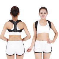 China Pain Relief Back Posture Corrector With Armpit Pad Extension Strap wholesale