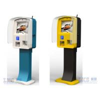 China All in One PC LCD Advertising Display Semi Outdoor Kiosk 1500nits High Bright wholesale