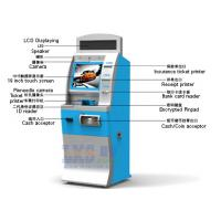 China License-based Air Tickets Vending Machine LED Displaying On The Top wholesale