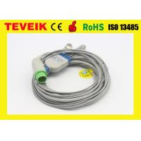 Wholesale Medical 5 Leads ECG Cable With Snap / ECG Trunk Cable For Biolight Patient Monitor from china suppliers