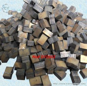 China Multi-layer Diamond Sandwich Segments for Cutting Hardstone Limestone Granite Sandstone wholesale
