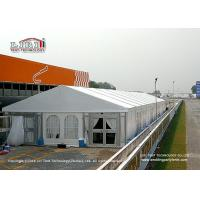 China Luxury Aluminum White Outdoor Tents For Events / Wedding / Party 500 Seater wholesale