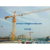 China QTZ6513 Factory Topkit Tower Crane with Telescoping Cage and Hydraulic System wholesale