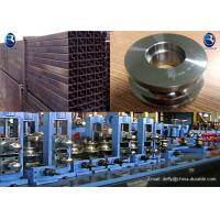 Tube Mill Roll Construction Steel Pipe Manufacture , Pipe Material MS Steel