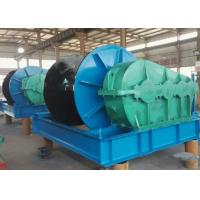 China cargo lifting and pulling horizontal electric wire rope winch machine on sale