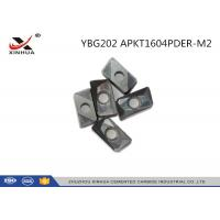 China YBG202 APKT1604 Indexable Carbide Insert Milling Inserts For Metal Cutting wholesale