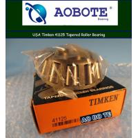 China Mining Timken Taper Roller Bearings With Single Row Low Noise wholesale
