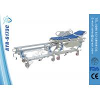 China Cold Roll Steel Ambulance Patient Transfer Stretcher Cart For Operation Room on sale