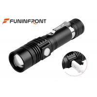 China Long Shot Range T6 LED Zoom Torch, MINI USB Rechargeable LED Flashlight wholesale